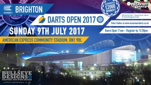 Brighton Darts Open Facebook EVENT Header