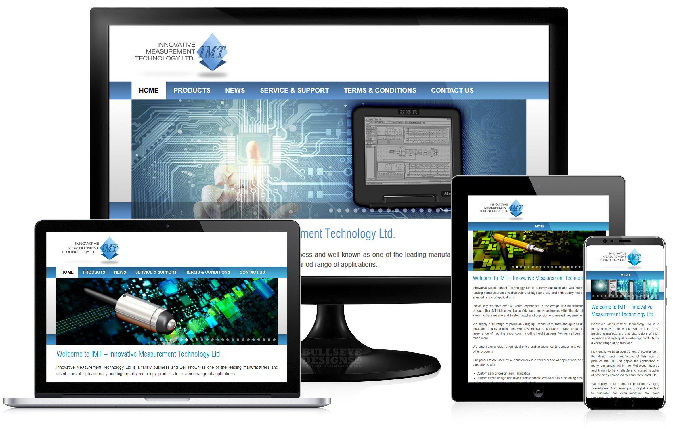 Innovative Measurement Technology Website group