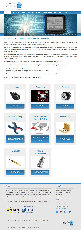 Innovative Measurement Technology Website