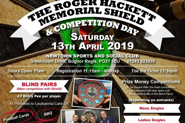 Roger Hackett Darts Knockout Memorial Poster 2018