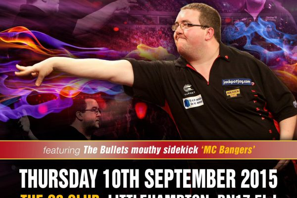 Stephen Bunting Darts Exhibition Poster