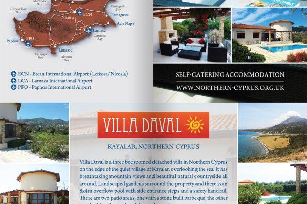 Villa Daval Leaflet