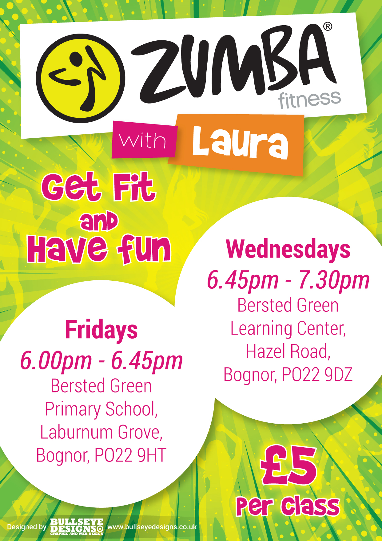 Zumba With Laura Leaflet