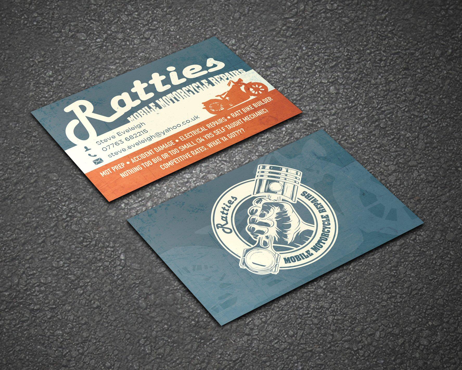 Ratties Business Card 3D copy