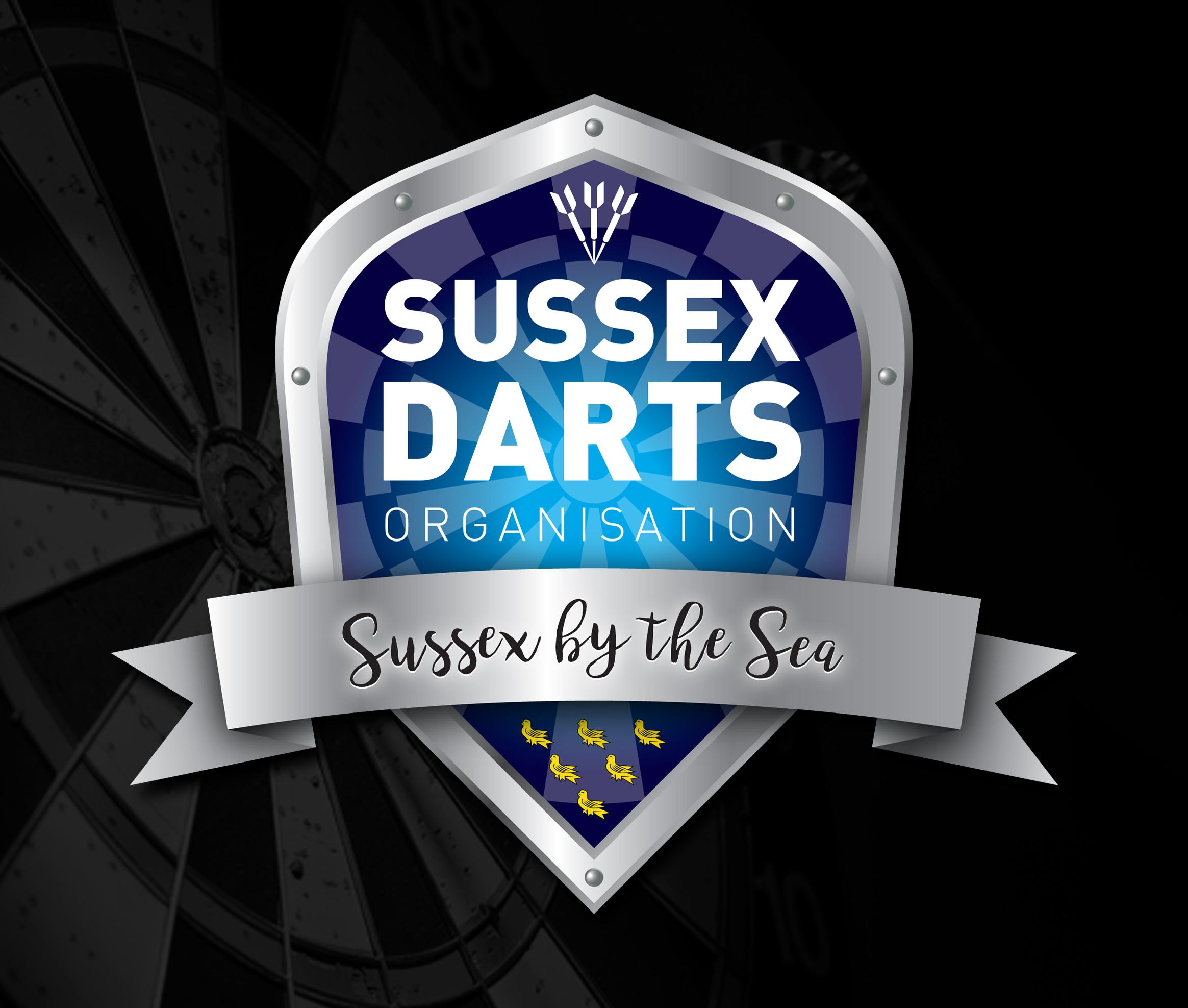 Sussex Darts Logo 2021