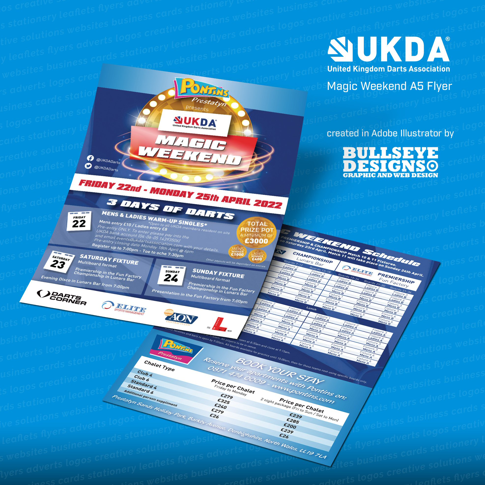 UKDA Magic Weekend Leaflet
